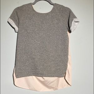 American Eagle flows tops pink and grey